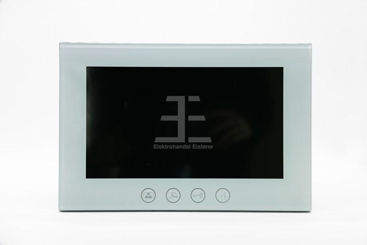 Bildschirm MT829C-10-S, 10 Zoll mit Bildspeicher, türkisweiß, Touchtasten