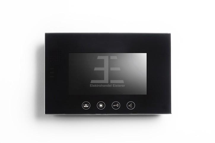 Bildschirm PVA-828RC-7, 7 Zoll, schwarz, Touchtasten, schwarz