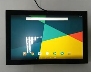 D21M10 - 10 Zoll Android Touchscreen Bildschirm für Doorbird mit PoE schwarz / Wandhalterung