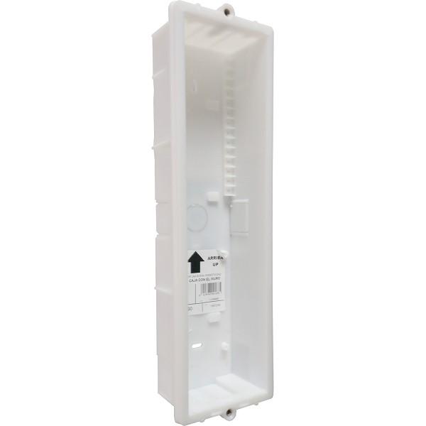 CEV-90 Unterputzgehäuse 3 Module / System INOX Aluminium