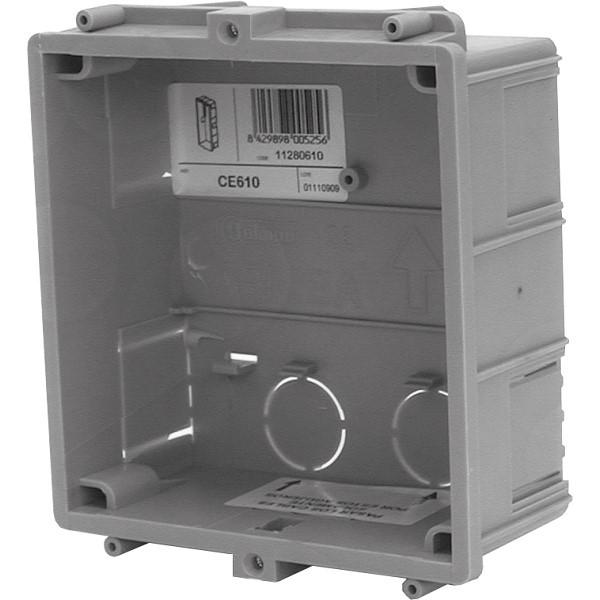 CE610 Unterputzgehäuse 1 Modul / System INOX Edelstahl