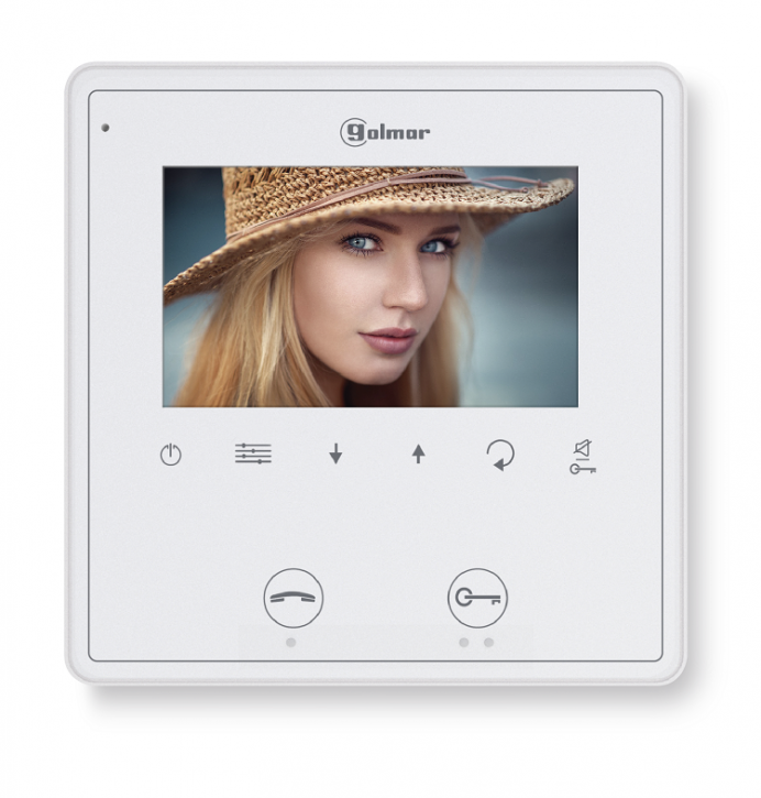 """Vesta 2 SE GB2 4.3"""" hands free colour monitor"""