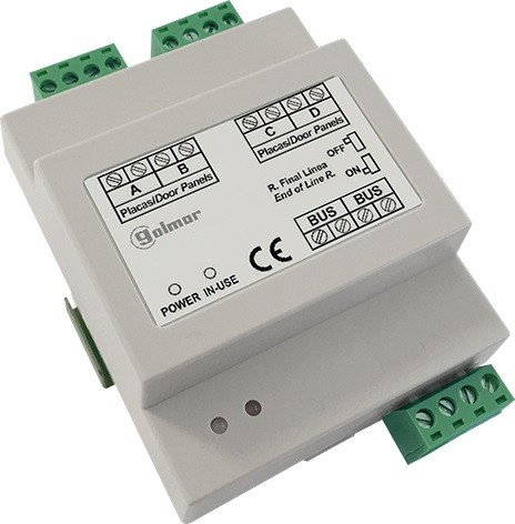 DP-GB2/A Videoverteiler 4-fach