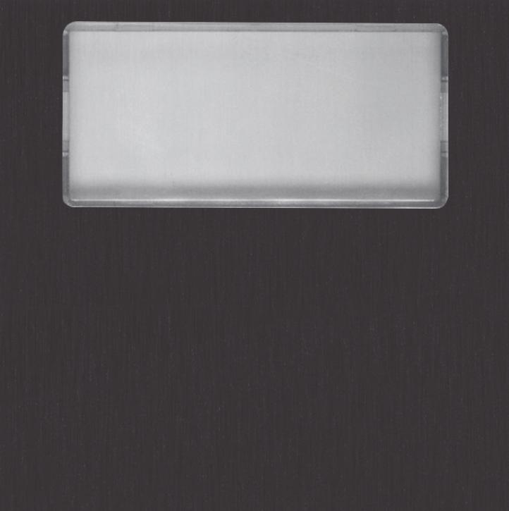 NX3001 BLACK blank module