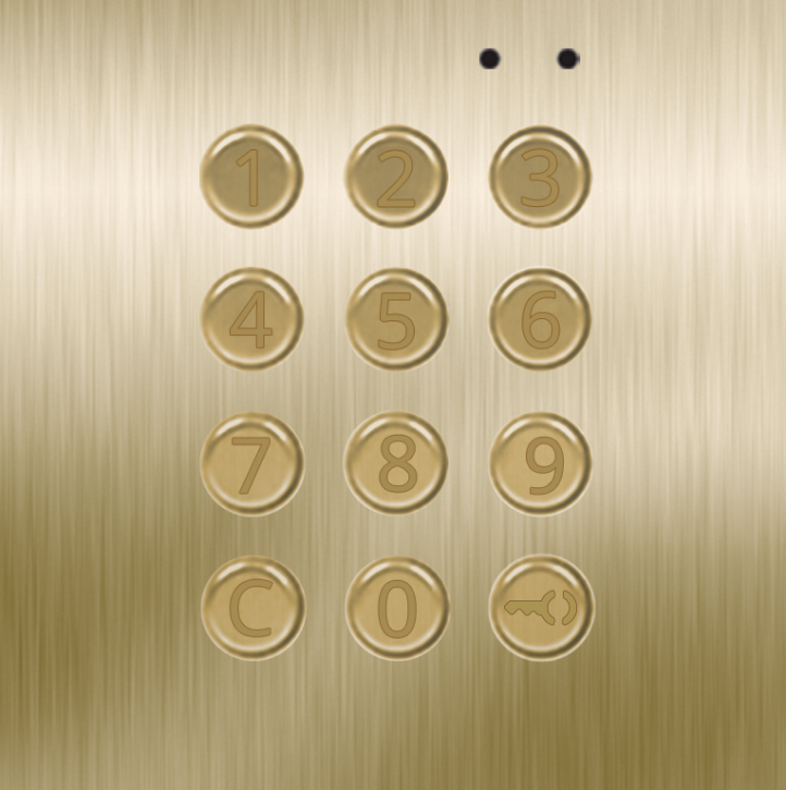 NX3301 GOLD access control keypad module