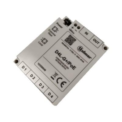 D4L-G+ / POE Verteiler 4-fach