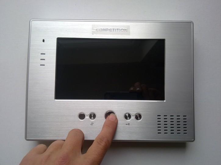 Bildschirm MT373C-CK2S1 silber / Alu / 7 Zoll / Bildspeicher