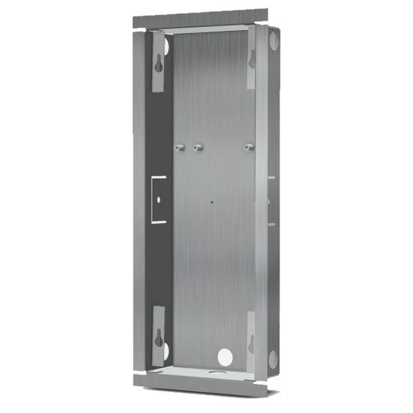 DoorBird D2102/D2103/D2101FV EKEY Unterputz Montagerückgehäuse, Edelstahl