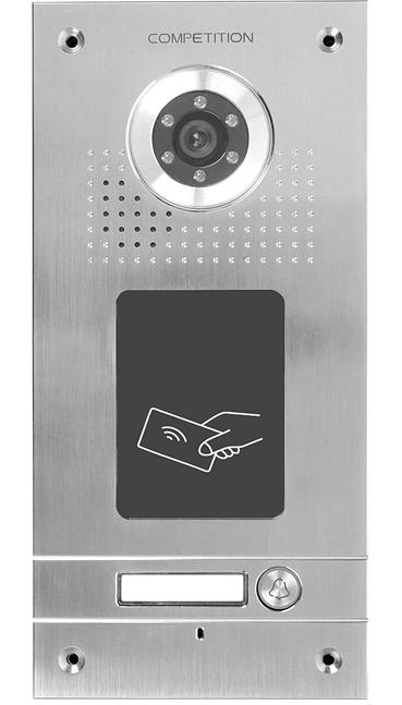 Einfamilien-Sprechanlage mit RFID-Leser Competition SAC562DN-CKA(1)