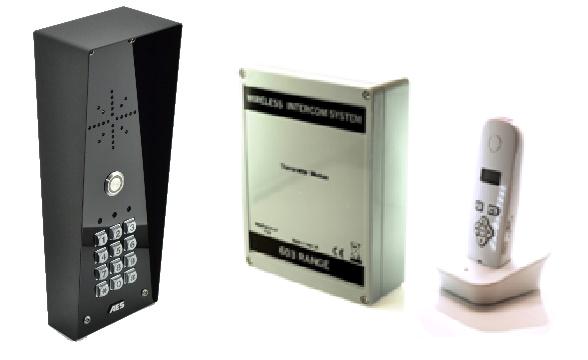 603-IMP-K DECT Sprechanlage mit Code