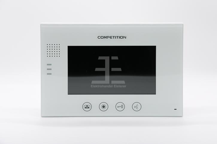 ABV49 Bildschirm MT670C-CK2S1 weiß / Glasfront / 7 Zoll / Bildspeicher - Retour