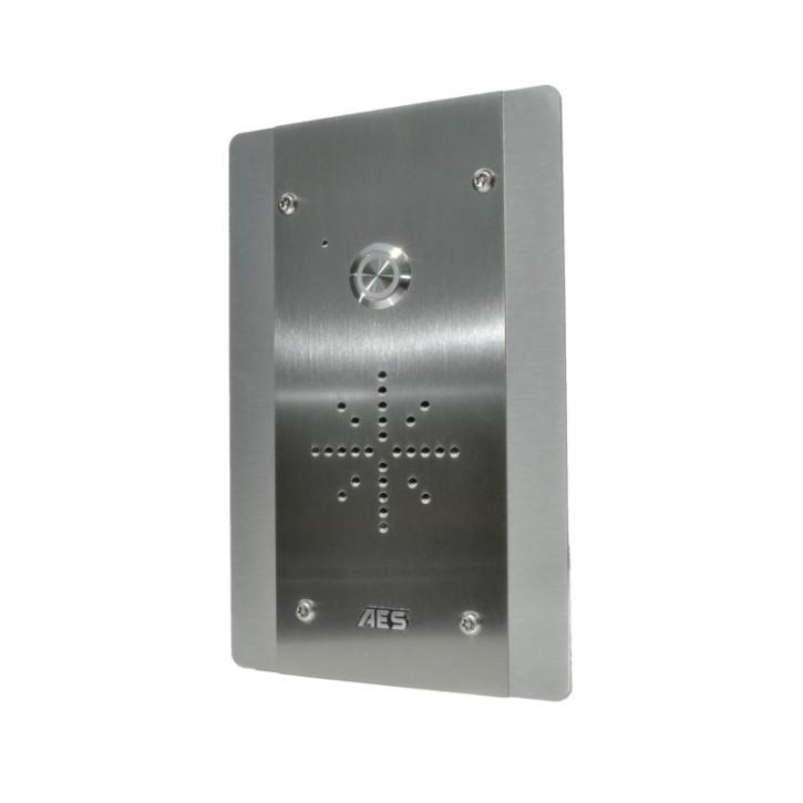 AES 4G/LTE Audio Sprechstelle Unterputz