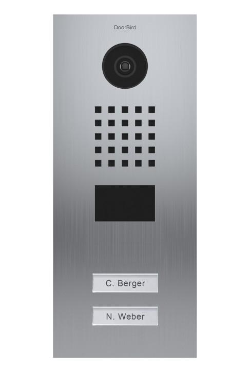 Doorbird D2102V Netzwerk-Video-Sprechanlage ( LAN)
