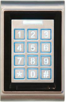 DHT16-50DT mit RFID Kartenleser, 2 Schaltkontakte
