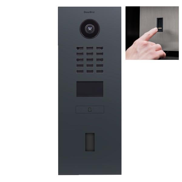 Doorbird D2101FV EKEY Netzwerk-Video-Sprechanlage (LAN, RAL7016)