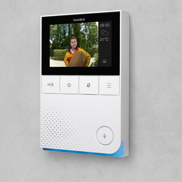 ABV - DoorBird IP Video Innenstation A1101, Aufputzmontage