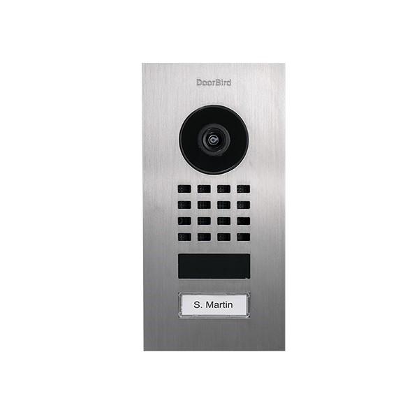 Doorbird Unterputz D1101V Unterputz Netzwerk-Video-Sprechanlage (WLAN oder LAN)