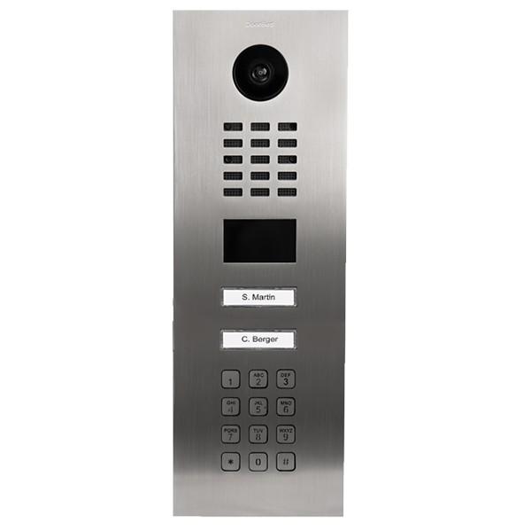 Doorbird D2102KV Netzwerk-Video-Sprechanlage mit Codetastatur (LAN)