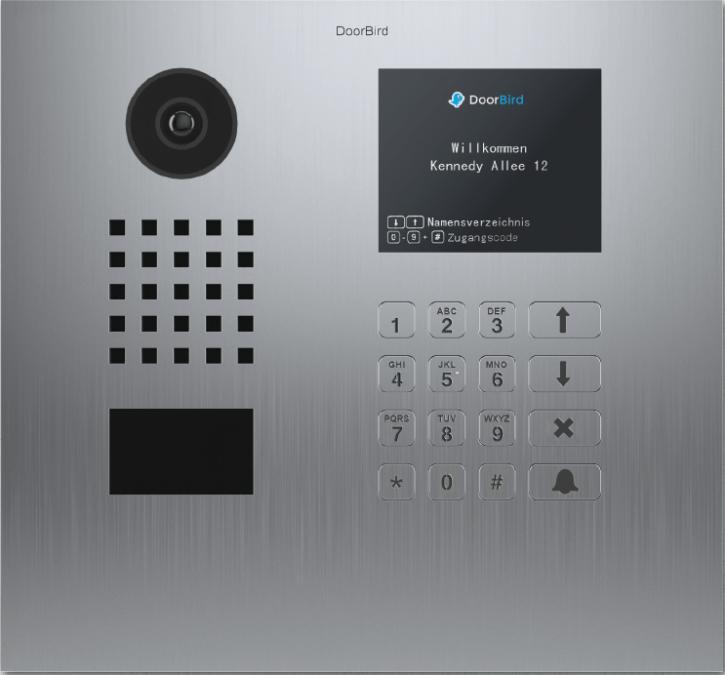 Doorbird D21DKH Netzwerk-Video-Sprechanlage (WLAN oder LAN)
