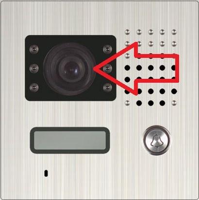 Kameraglas eckig für Modelle 601 / 701 etc.