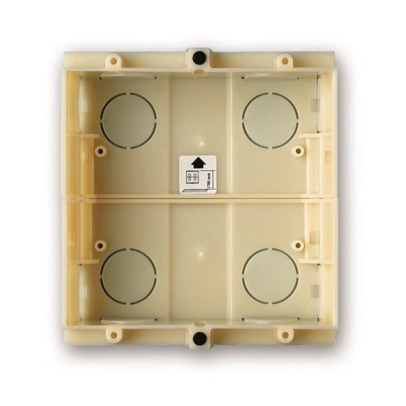 G0702 Unterputzschale Türstation ALEA 2 Module