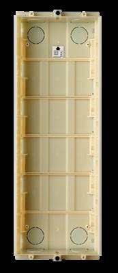 G0706 Unterputzschale Türstation ALEA 6 Module
