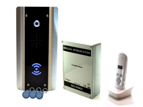 603-ABP DECT Sprechanlage mit RFID Leser