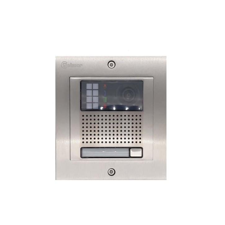 Türstelle NX-K1 (eine Klingeltaste, Video, Front Edelstahl, Unterputz)