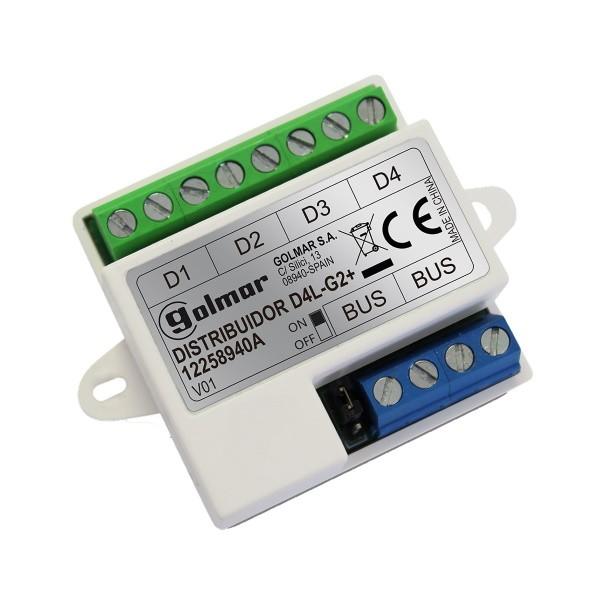 D4L-G2+ - 4-fach Verteiler für Monitore