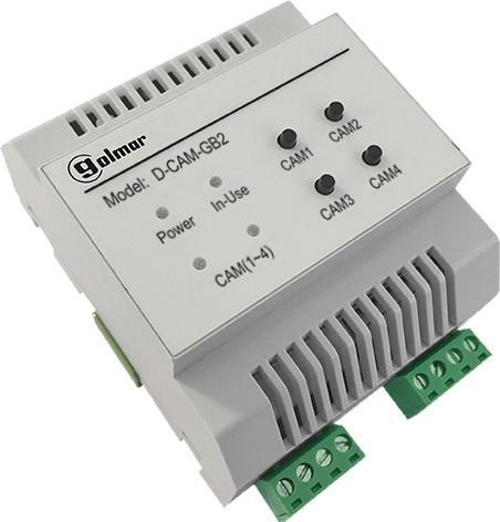 DQ-CAM-GB2 Modul für Zusatzkameras mit Quad-Bild Funktion
