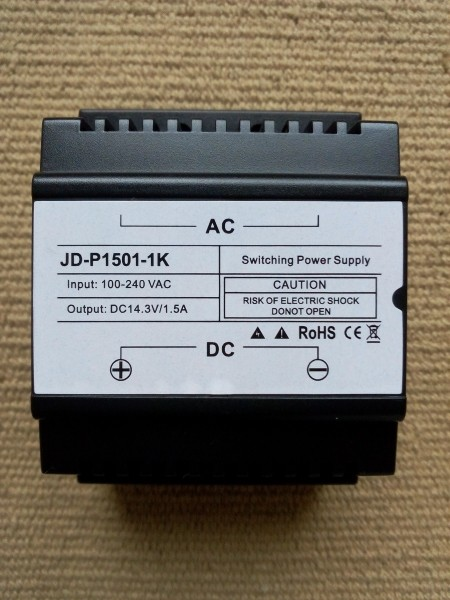 Netzteil 14,3 VDC 1500mA JD-P1501