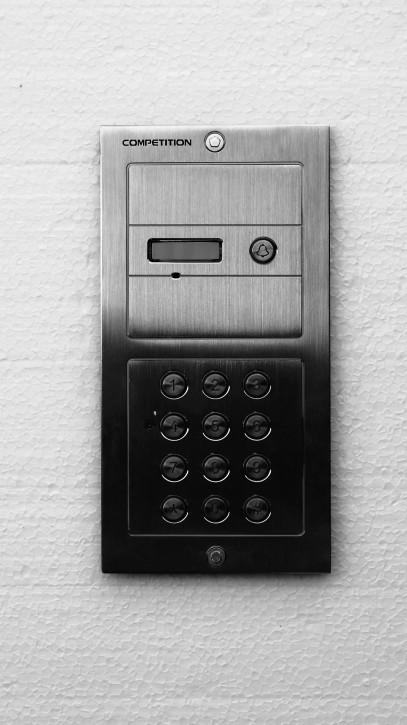 Set: Eine Klingeltaste, Codetastatur