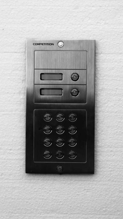 Set: Zwei Klingeltasten, Codetastatur