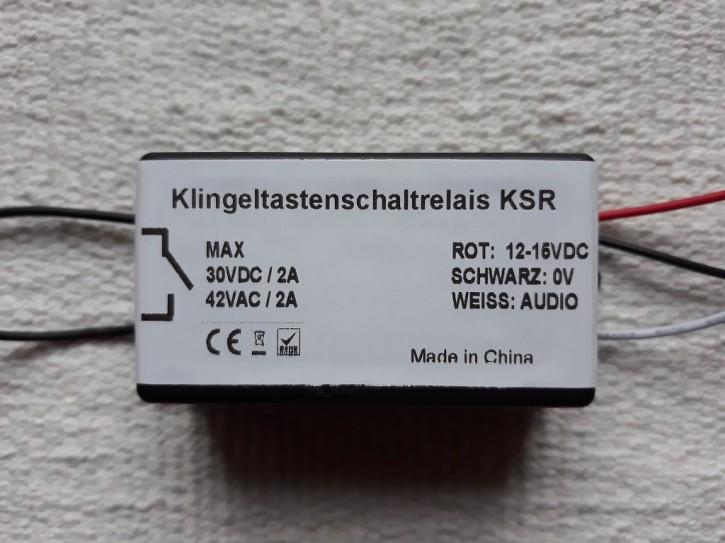 KSR Klingeltasten-Schaltrelais für Verwendung ohne Bildschirm