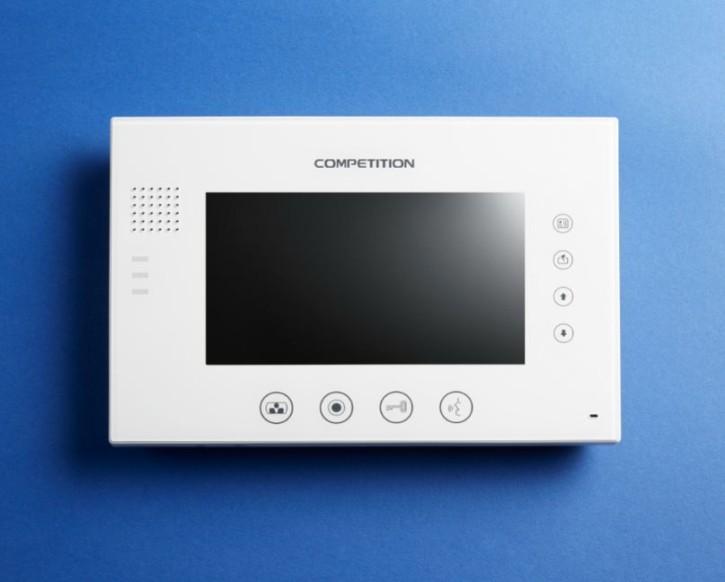 Bildschirm MT670C-CK2S1T weiß / Glasfront / 7 Zoll / Bildspeicher