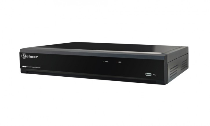 IP-Rekorder NVR-408 (8-Kanal, inkl. 2TB Festplatte)