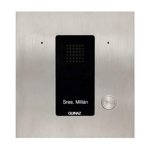 PDA101S - Audio-Türstation mit einer Klingeltaste