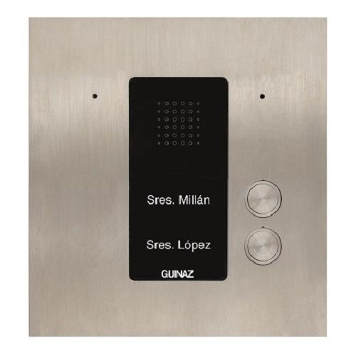 PDA102S - Audio-Türstation mit zwei Klingeltasten