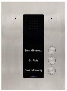 PDA103S - Audio-Türstation mit drei Klingeltasten