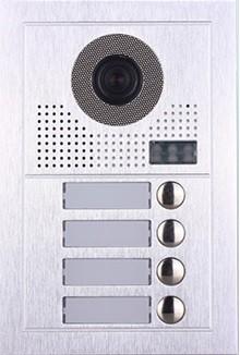 PVA-619z-2w-4 Türstelle 4 Klingeltasten Unterputz 2-Draht