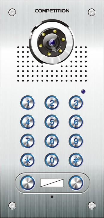 Zweifamilien-Gegensprechanlage mit Codetastatur Competition SAC562C-CK(2)