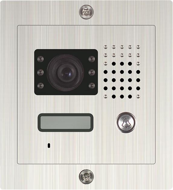 Einfamilienanlage SAC601DN-CK Unterputz / Edelstahl