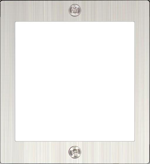 Rahmen 1-fach, inkl. Unterputz-Kasten SAC701B-KC1