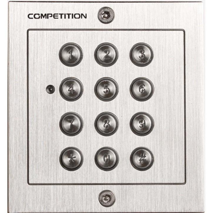 DH16A-601T Codetastatur Unterputz / Edelstahl / 1 Schaltrelais