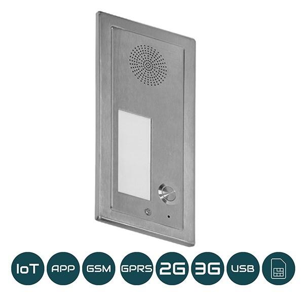 DP-GSM-3G-FM1 Unterputz / Eine Klingeltaste / 2G+3G