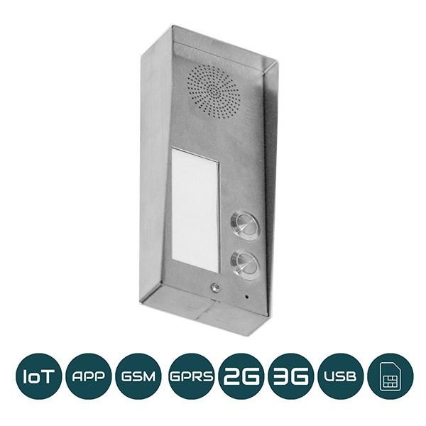 DP-GSM-3G-SM2 Aufputz / Zwei Klingeltasten / 2G+3G