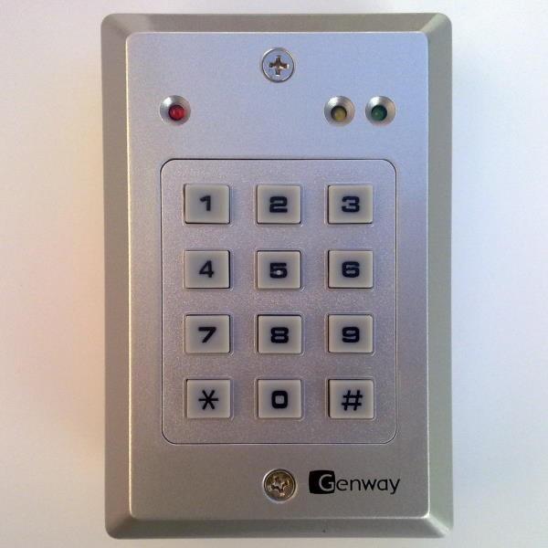 Genway ECK-04A Code+RFID, nur für Innenbereich, Aufputz
