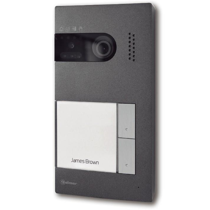 SOUL/2 - Farbvideopanel mit zwei Klingeltasten
