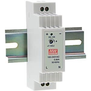 Netzteil 15 VDC-1A / MW DR-15-15