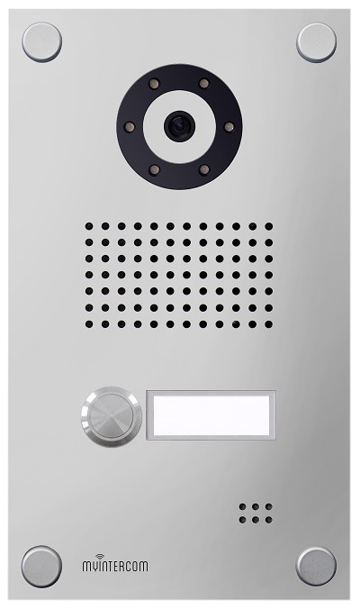 IP-Video Türstation myintercom One, Aluminium